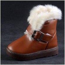 Mode étanche bébé garçon chaussures d'hiver neige bottes pour un enfant en bas âge garçon
