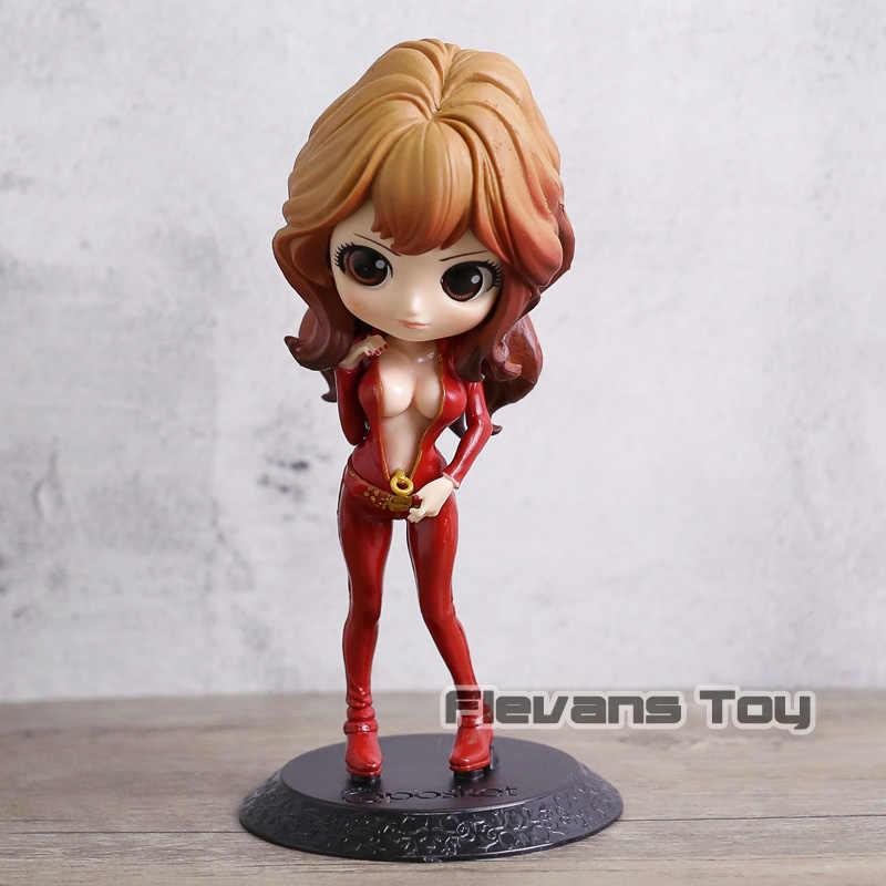Personagem de Anime Lupin III Rupan Sansei Qposket Mina Fujiko Versão Bonito PVC Modelo Figura Boneca Brinquedos para Meninas