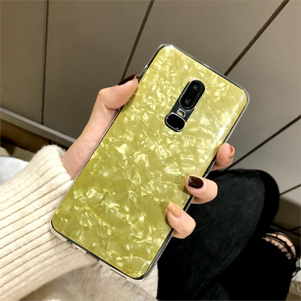 For font b OnePlus b font 6T font b 7 b font 5T Cover Marble Case