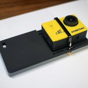 Image 2 - FUNSNAP Aluminum Switch Mount Camera Stabilizer for GoPro Hero 6/5/4 Motion Camera Adapter Plate Handheld Gimbal Accessory