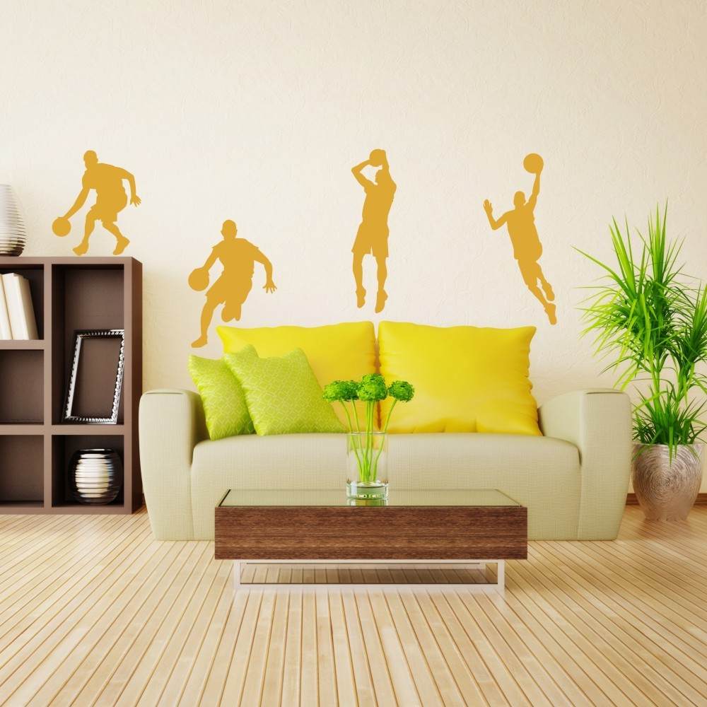 Basketball player dribble dunk sequence michael jordan sticker basketball player dribble dunk sequence michael jordan sticker graphics wall decal wall sticker boy bedroom decor 64h x 32w in underwear from mother amipublicfo Images
