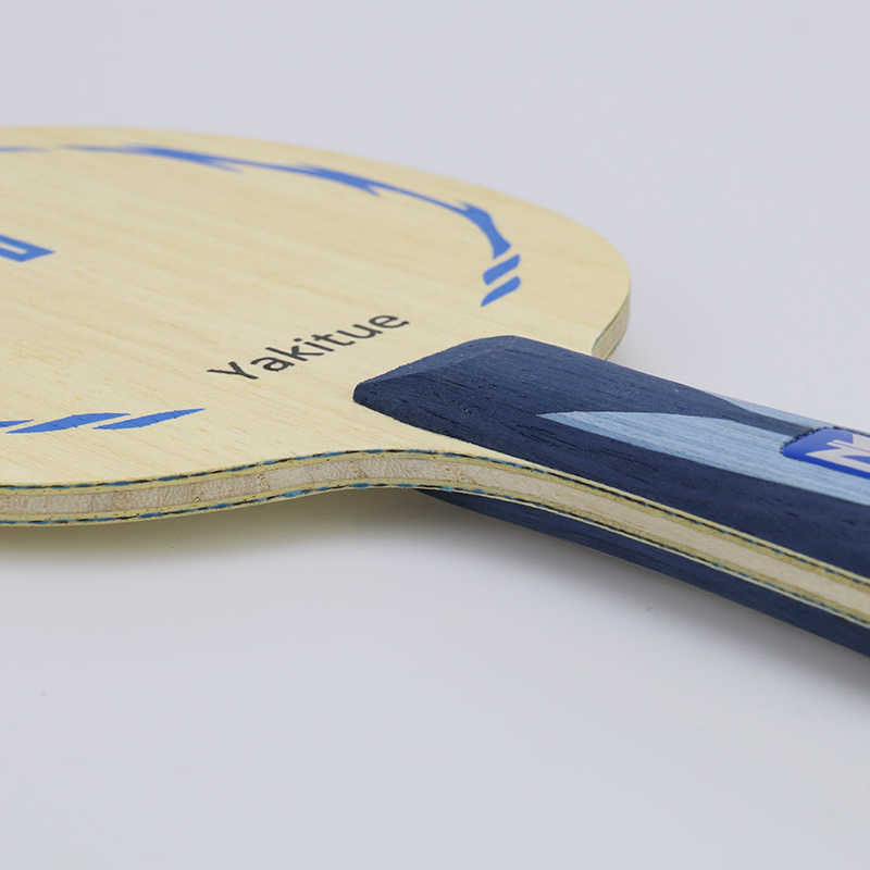 Yatikue quality table tennis racket blade bats ping pong long handle fast attack loops chop type racket Table tennis rubber