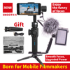 Zhiyun Smooth 4 Smartphone 3 Axis Gimbal Stabilizer Mobile Video Steadicam For Iphone Android Action Camera