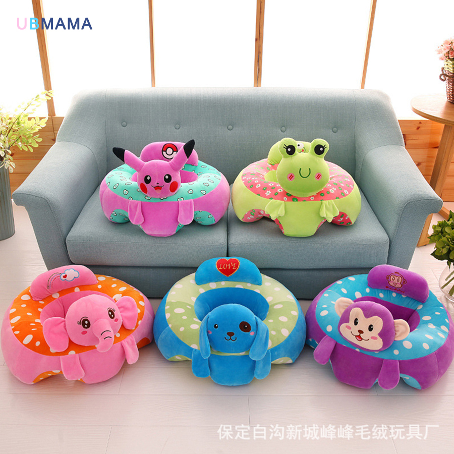 Baby Support Seat Sofa Learning To Sit Chair Comfortable Travel Car Pillow Cushion Plush Toys Frog Elephant In Seats From Mother