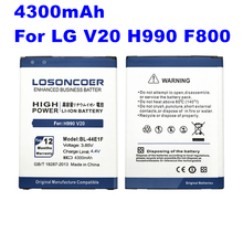 LOSONCOER 4300 미리암페르하우어 (High) 저 (용량 BL-44E1F Battery 대 한 LG V20 배터리 H990 F800 VS995 US996 LS997 H990DS H910 H918 Stylus3 m400DY(China)
