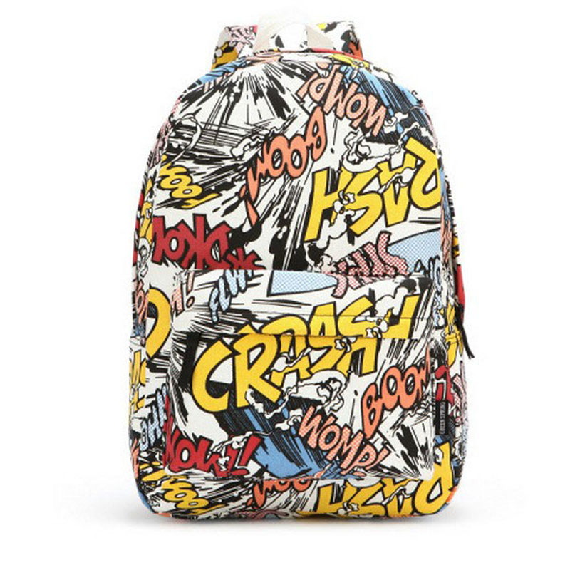 Hot School Bags for Teenagers Canvas Printing Backpack Girls Preppy Style Women's Backpack mochilas femininas 2017 women canvas backpacks school bags for teenagers girls preppy style travel shoulder bags kanken backpack mochilas feminina