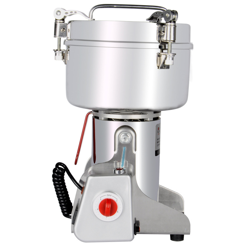 Stainless Steel Chinese Herbal Crusher Electric Grinder 1500g Household Swing Type Cereals Grinding Machine Mixer Chopper Device high quality 300g swing type stainless steel electric medicine grinder powder machine ultrafine grinding mill machine