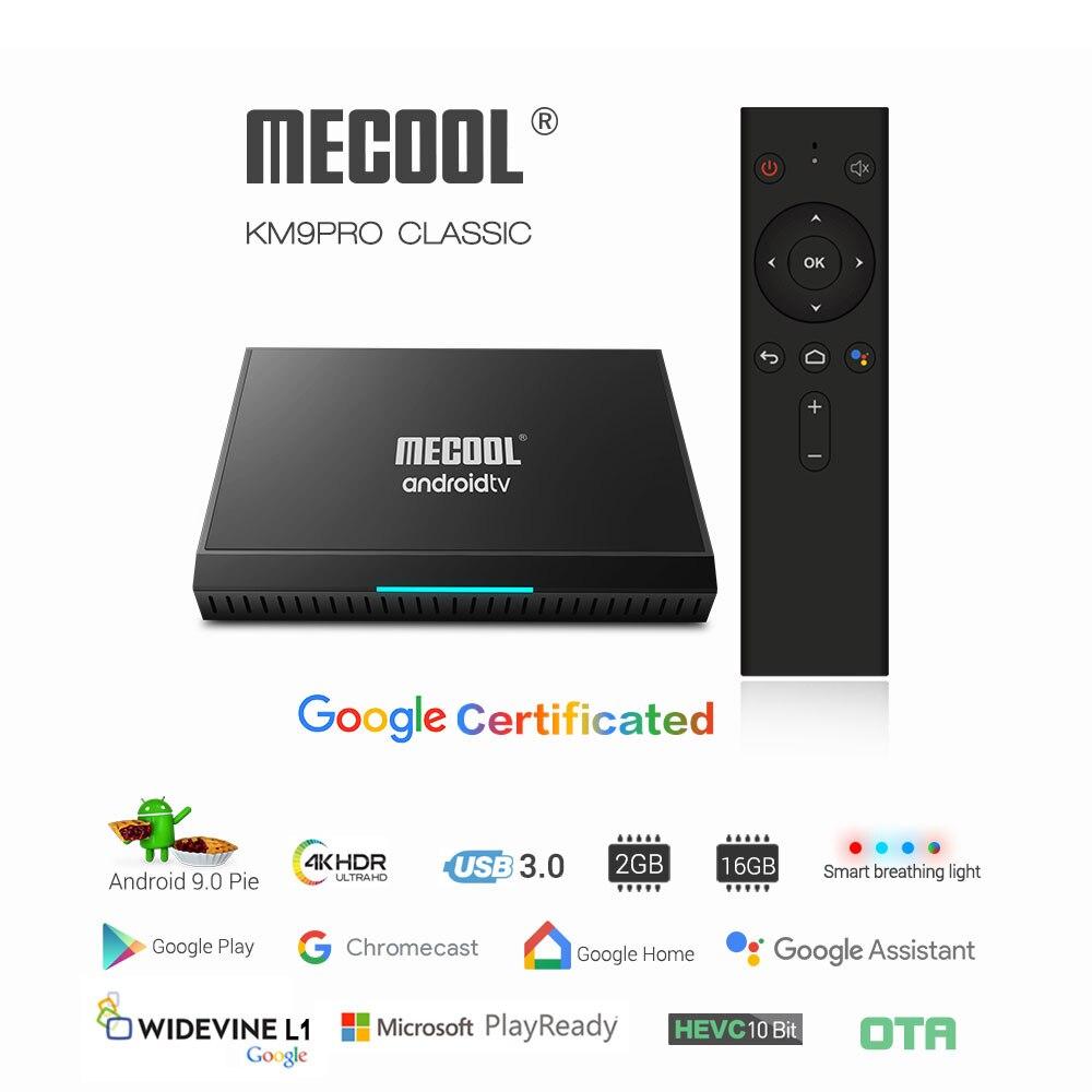 MECOOL KM9 Android 9 0 TV Box 2GB DDR4 RAM 16GB ROM WiFi 2 4G 5G