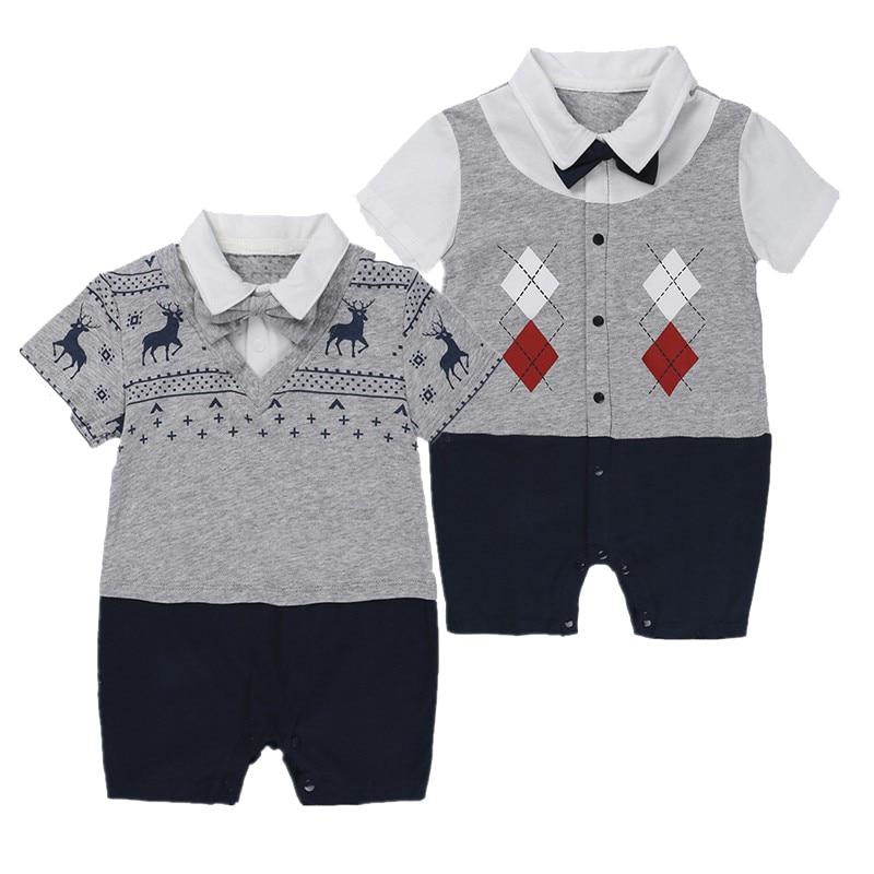 3e2312a1b801 Nyfödda barnkläder kostymer sommar klättring kläder män kläder baby ...