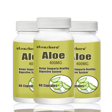 Buy Aloe  60pcs  400mg X 3 Bottles Total 180PCS Supports a Healthy Digestive System directly from merchant!
