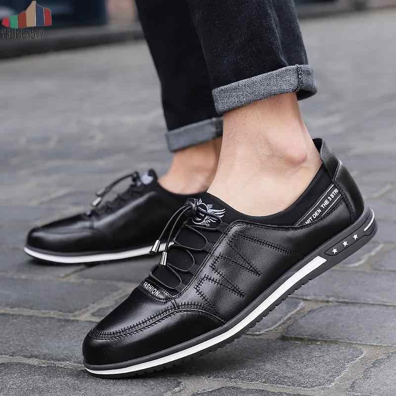 NAUSK סתיו גברים נעלי רשת לנשימה Mens נעלי אופנה מזדמן נמוך שרוכים בד נעלי דירות Zapatillas Hombre בתוספת גודל