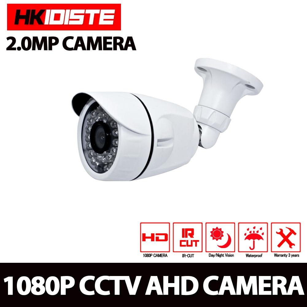 imágenes para CCTV Cámara CMOS Sensor 3000TVL Ir-cut Filter Cámara AHD 1080 P Interior/Exterior Impermeable 1080 P 3.6mm de la Lente de la Cámara de Seguridad