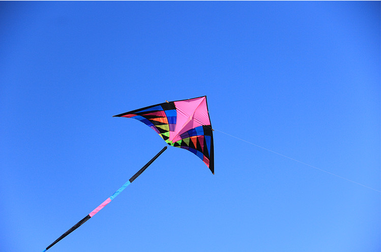 Nouvelle arrivée 3.6 M SPORTS de plein air FUN puissance DELTA cerf-volant avec poignée/chaîne facile à voler - 4