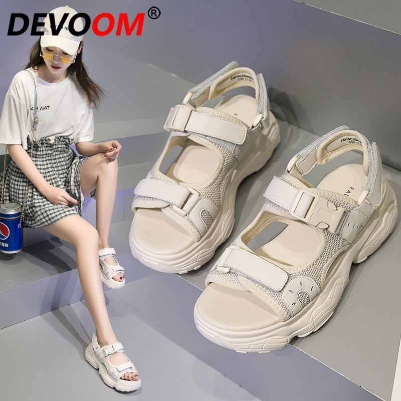 Outdoor Sandals Women Ladies Sneakers Sandals Women Sport Sandales Femme 2019 Summer Women Shoes Sandalias deportivas mujer 40-in Beach & Outdoor Sandals from Sports & Entertainment    3