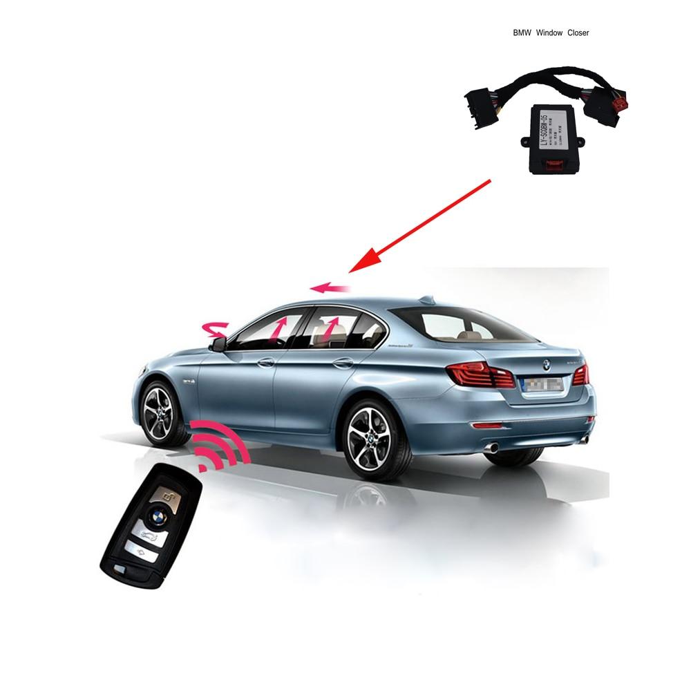 PLUSOBD New For BMW X5 F15 Car Accessory Car Power Window Closer For Window Lift Module Mirror Folding Window Close Car Alarm