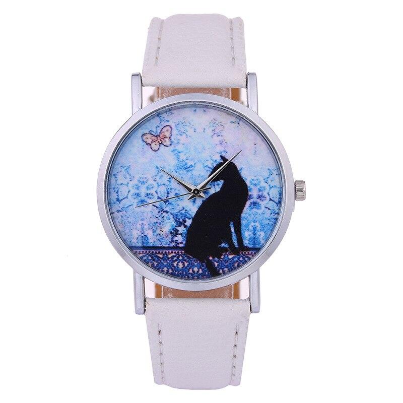 Fashion Casual Children's Watch Women's Quartz Wristwatch Leahter Starry Sky Women's Bracelet Watch Relogio Feminino Girls Gift