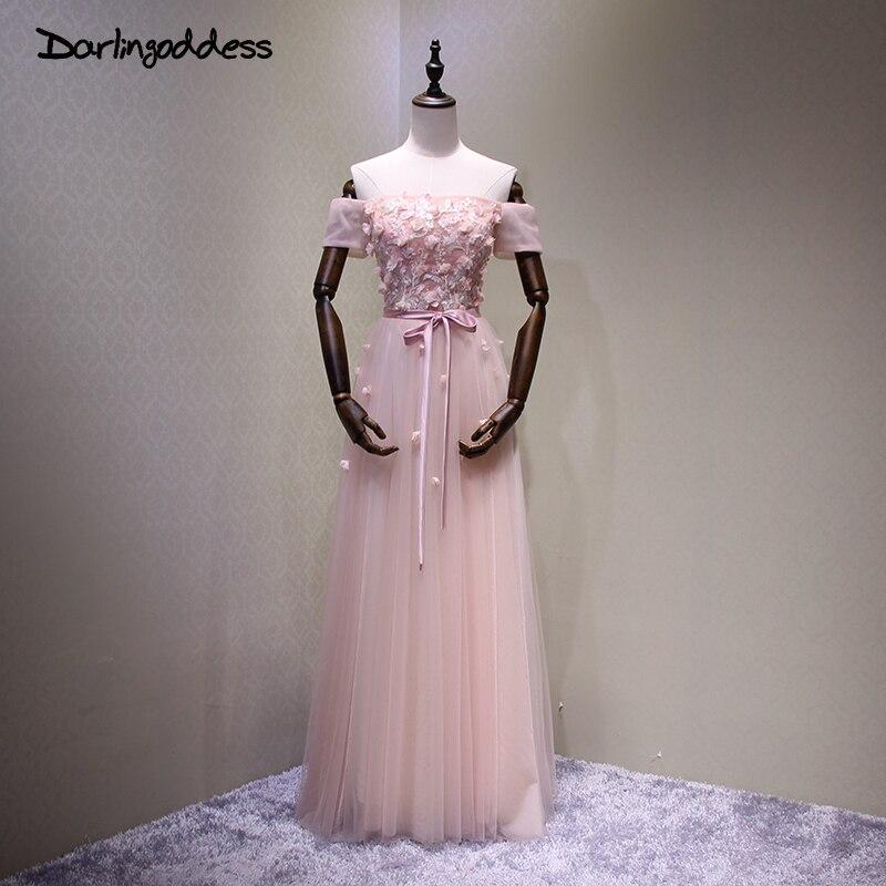 Robes De soirée 2017 mère dos nu élégant longues robes formelles rose Elie Saab Occasion spéciale Robe avec manches Robe De soirée