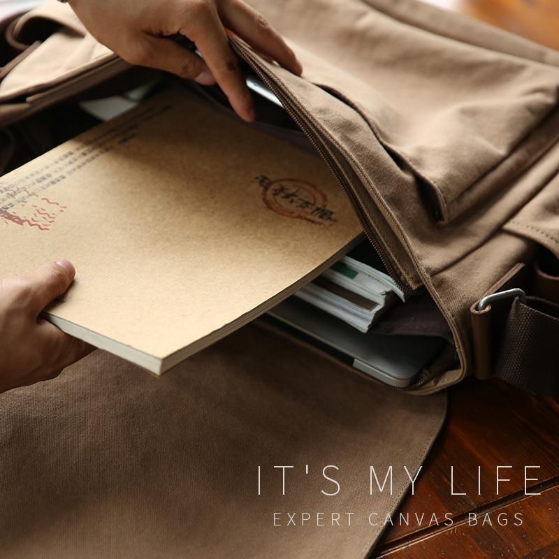 sacolas de homens homensageiro muzee Formato : Single Shoulder Bag
