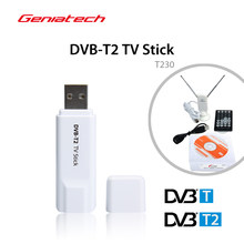 dvb-t2 GENIATECH MyGica USB TV tuner Stick T230C DVB-C T2 DVB-T HD TV with License for Russia Thailand Colombia Europe Win10(China)