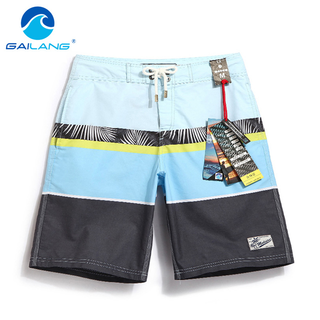 GAILANG Brand Mens Active Shorts Jogger Bermudas Swimwear Swimsuits Man Beach Boardshorts Boxer Trunks Men Workout Quick Dry