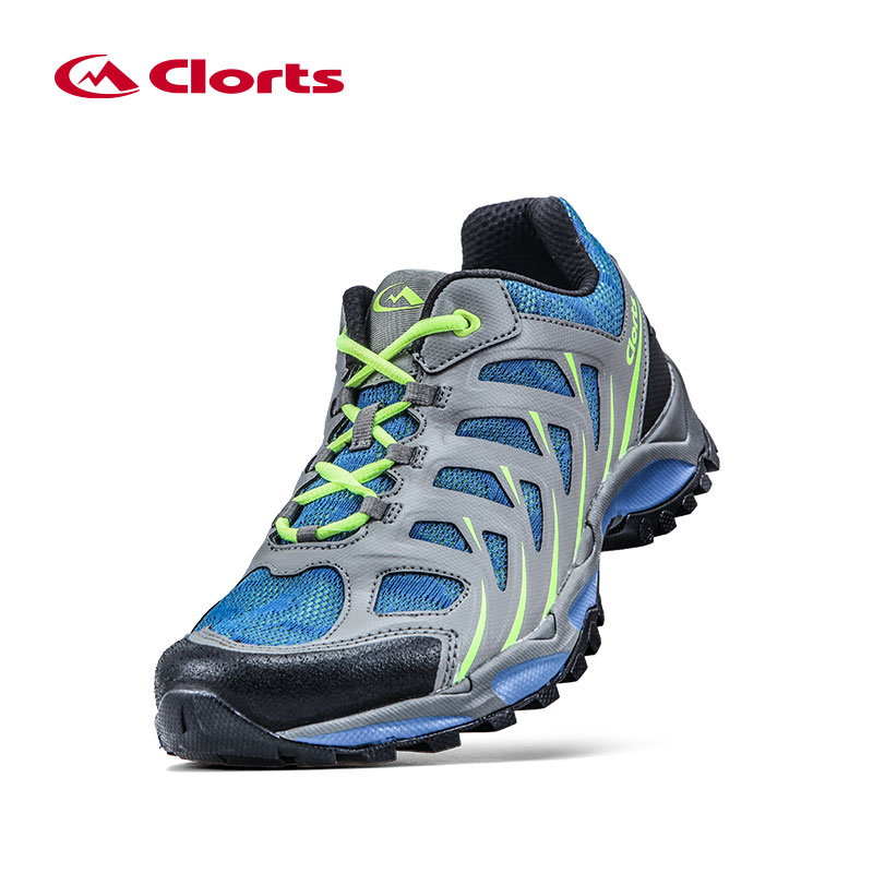 Clorts Men Trail Running Shoes Breathable Athletic Shoes PU Mesh Man Sports Trail Runner Shoes 3F021A/B trail running
