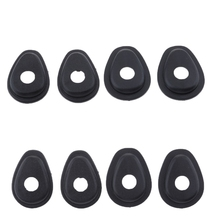 8 Pcs/Set Motorcycle Front/Rear Indicator Adapter Turn Signal Spacers For YAMAHA MT 25/XSR & YZF R6/FZ16 Etc 1.57x1.18x0.35 Inch
