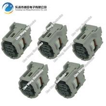 5 Sets 4 Pin Automotive Connectors Tire Pressure Sensor Plug DJ7041-0.65-21 4P