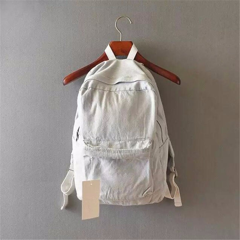 HTB12W.rKpXXXXbpaXXXq6xXFXXX8 - Denim backpack school bags for girls deep blue and light blue