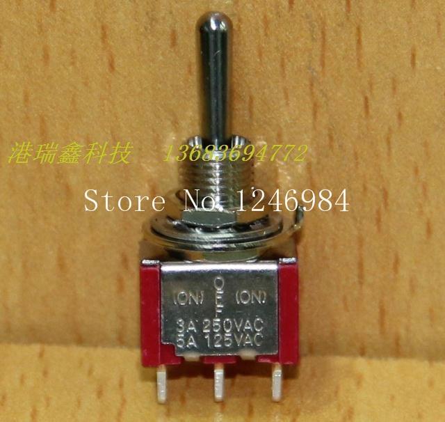 c00bd9b4ed8cd  Sa  T8014A واحدة مزدوجة إعادة الزناد M6.35 يهز رأسه صغير تبديل التبديل  الروك التبديل T80-T تايوان sh -- 50 قطعة الوحدة