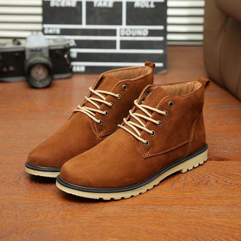 d0df94264f6e6 Nuevos 2017 Zapatos de lona de Los Hombres zapatos de gamuza de alta ...