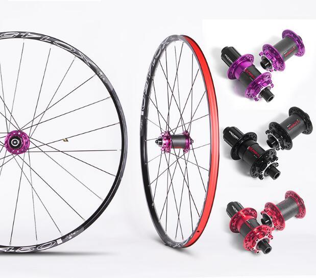 26 RT MTB Mountain Bike Bicycle Carbon Fiber Wheel Wheelset Rim 11 speed 27.5'' 1500g tropix wheel bicycle wheel 26 9 10 11 speed joyce hub flower drums mountain wheel 32h 26 inch bicycle wheelset