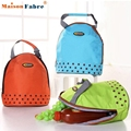 New FashionNew Insulated Tote Lunch Bag Picnic Waterproof Canvas Cooler Thermal Food Drinks Hand bag lunchbox Adults Kids Jan-6