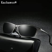 Aluminum magnesium sport sun glasses for male polarized high quality fishing sunglasses men night vision men