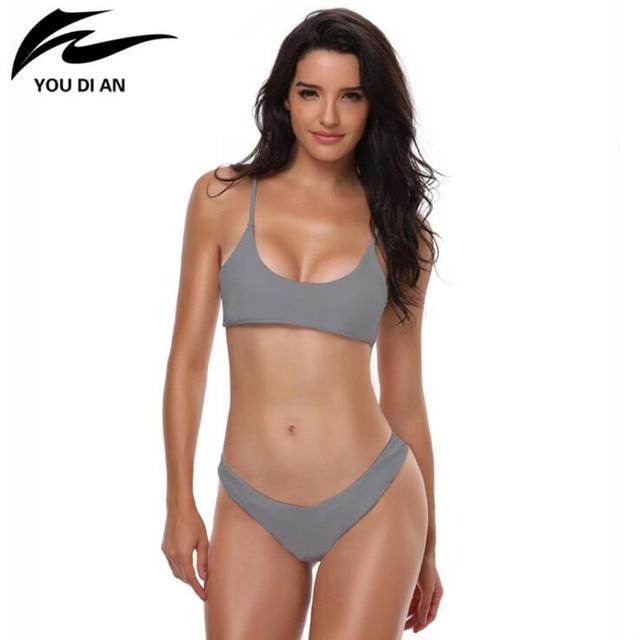 8f2f78760227e Hot sale bikinis Women Push-Up Padded Bra Beach Bikini Set Swimsuit  Swimwear women Bikini biquini woman swimsuit wholesale