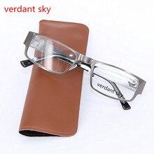 2017 Quality Fashion Full frame Reading Glasses Men Women Eyeglasses For Women Reading Men's Diopter 1.0 1.5 2.0 2.5 3.0 3.5 4.0