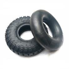 4.10/3.50-4 Tire and Inner Tube Set for Garden Rototiller Sn