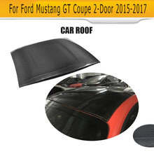 Auto Roof Top Stickers Carbon Fiber for Ford Mustang GT Coupe 2-Door 2015-2017 Car Accessories(Hong Kong,China)