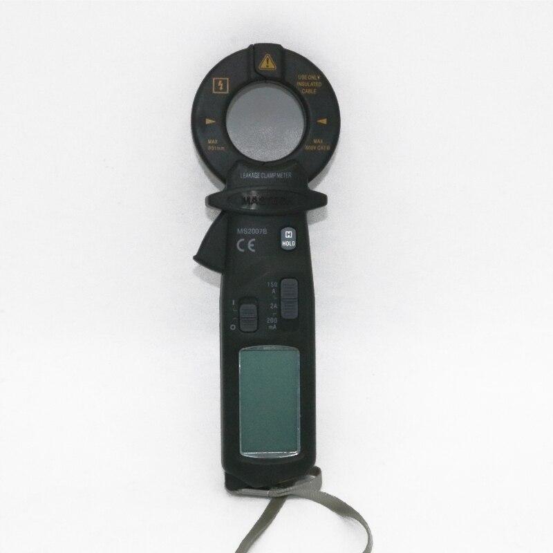 MASTECH MS2007B AC 150A Мини цифровой зажим Leaker Высокочувствительный Измеритель ЖК 1999 отсчетов - 2