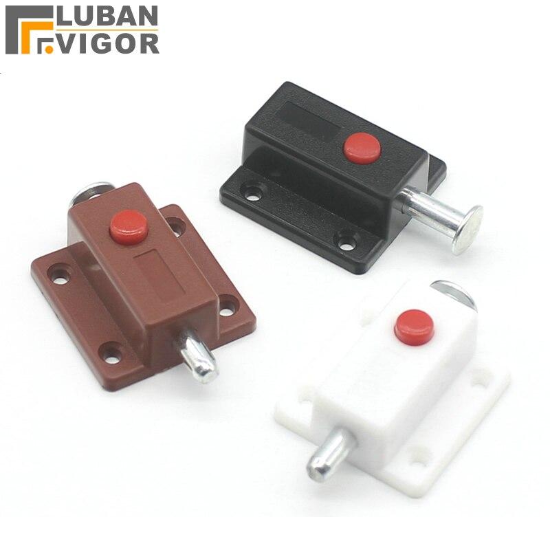 Factory Outlets Plastic Automatic Button Latch Out Bolt