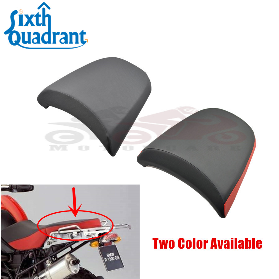 High Quality Motorcycle Rear Pillion Passenger Seat Pad For BMW R1200GS ADV 2005 2006 2007 2008 2009 2010 2011 2012 05-12 car rear trunk security shield cargo cover for jeep compass 2007 2008 2009 2010 2011 high qualit auto accessories