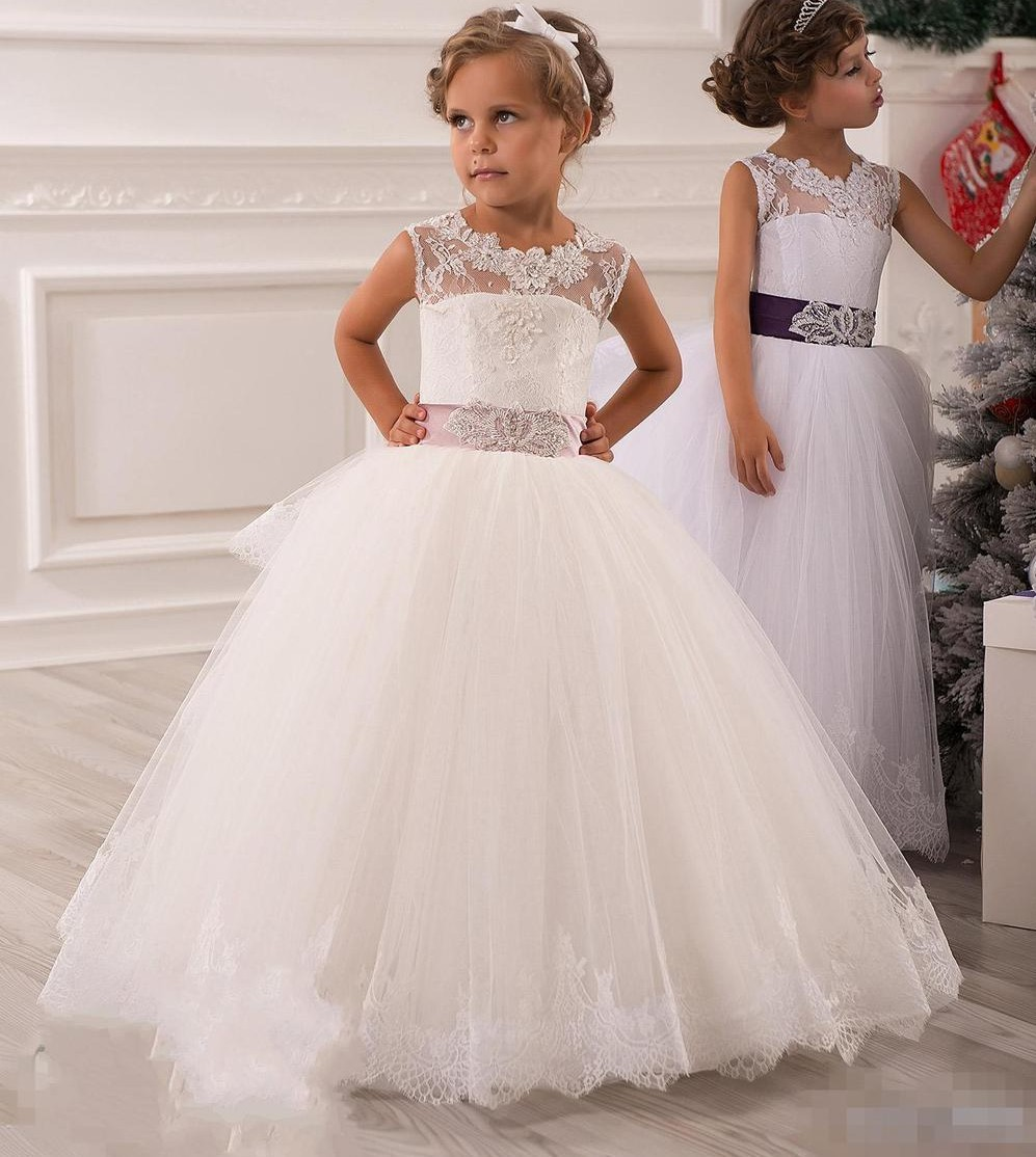 Graceful Kids Beauty Pageant Dresses First Communion Dresses For