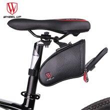 WHEEL UP Reflective Bicycle Bike Rear Bag Waterproof MTB Mountain/Road Bicycle Saddle Bag Cycling Rear Seat Tail Bag