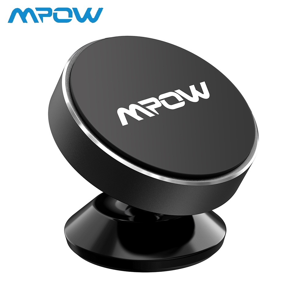Mpow Universal Dashboard Magnetic Car Phone Mount Stylish Metal Holder Stand 300g For iPhone Samsung Xiaomi
