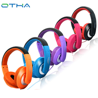 OTHA Stereo Bass Computer Gaming Headset Headphone With Microphone For Computer Gamer Earphone Blue Pink Purple