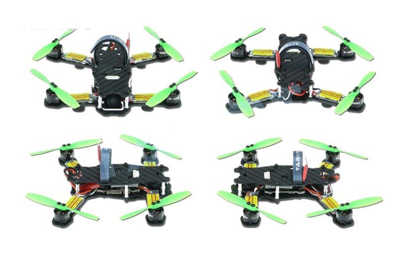 Tarot TL130H1 RTF Mini Racing Drone Alien 130 Quadcopter Carbon Fiber Frame with Controller Motor ESC Prop FPV Parts rc plane 210 mm carbon fiber mini quadcopter frame f3 flight controller 2206 1900kv motor 4050 prop rc