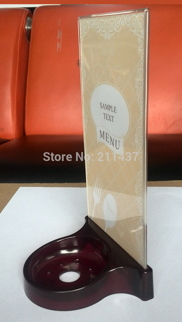 Aliexpress Com Buy Restaurant Table Food Menu Holder Stand K Sp