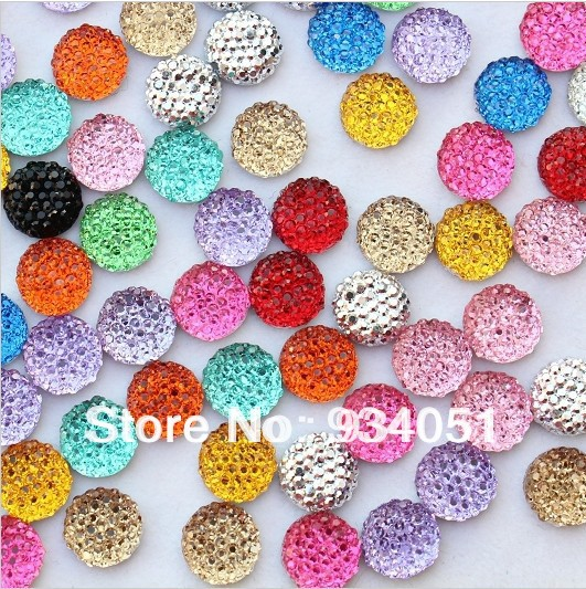 20 filamento de los granos de filamentos Hecho a Mano Millefiori cristal Plana Redonda Color Mezclado Joyería