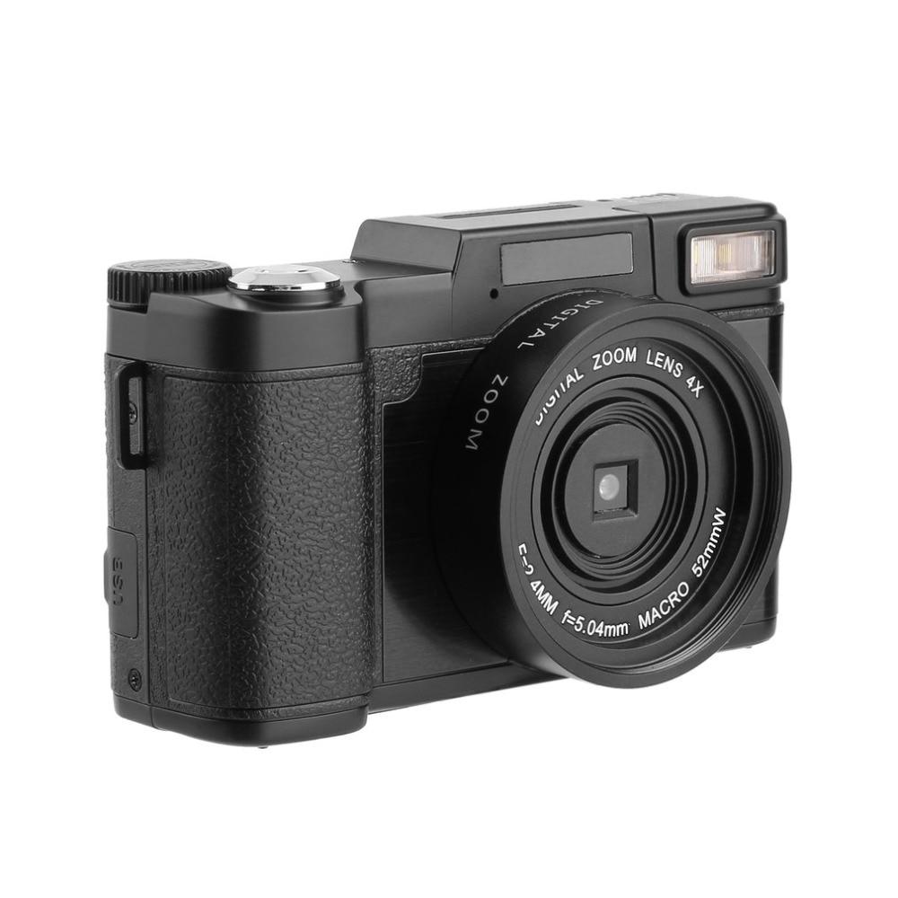 24 Mega Pixels 1080 HD Camcorder Digital Camera DC-R2 Zoom Lens 4X Digital Zoom Mini Camcorder Macro 24.0MP Baicmos Camcorder