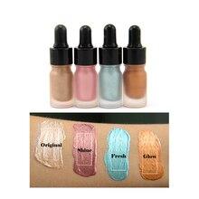 Free Cusotm Logo Private Label Need Minimum Liquid Shimmer Hightlighters Makeup Primer Bronzer Face Concealer liquid недорого