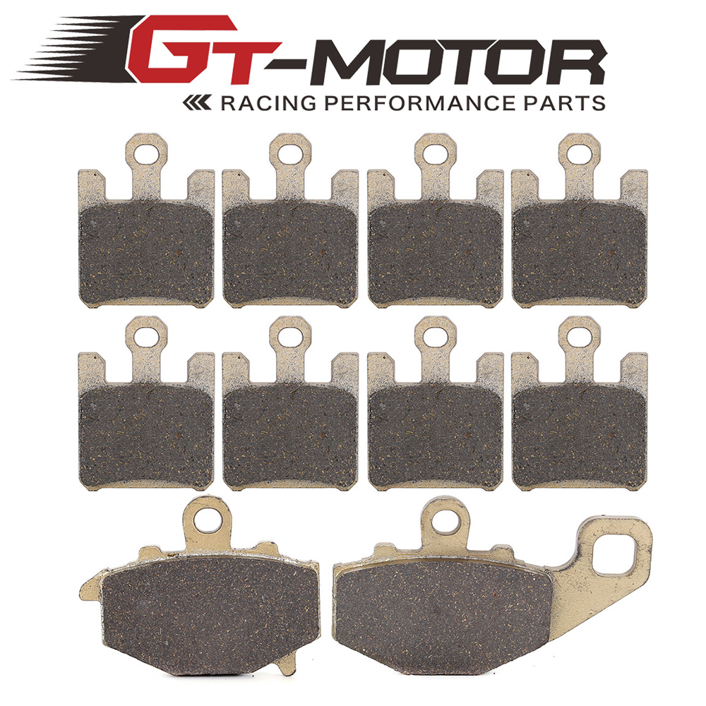 Motorcycle Front and Rear Brake Pads For KAWASAKI ZX12R ZX-12R NINJA ZX1200 2000-2003 180 16 9 fast fold front and rear projection screen back